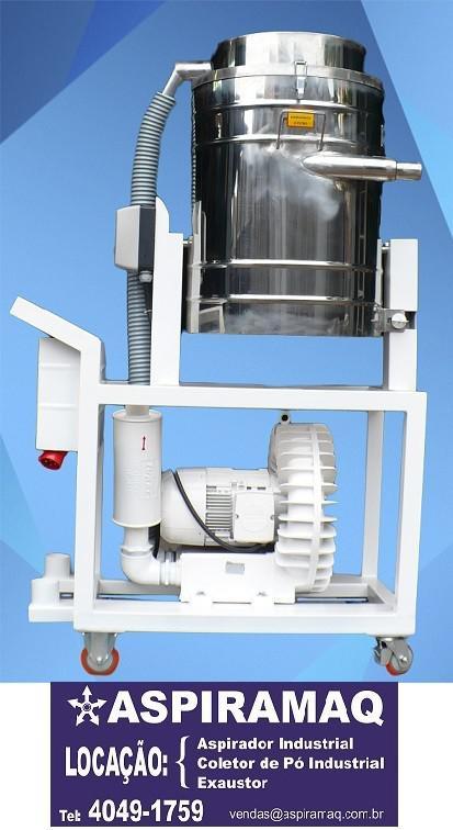 Aspirador industrial de líquidos