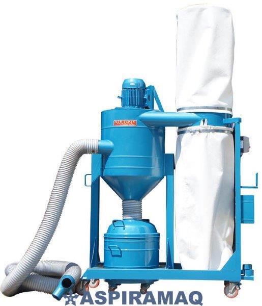 Aspirador industrial para sólidos e líquidos profissional