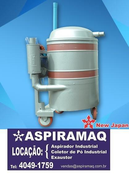 Aspirador industrial de água