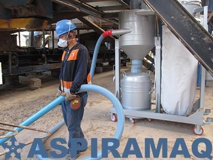 Aspirador industrial para óleo