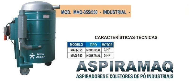 Comprar aspirador pó industrial