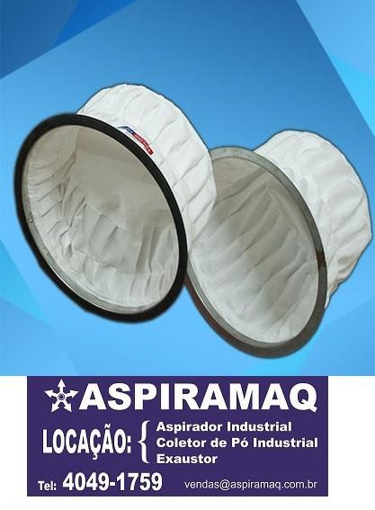Limpeza de filtro manga