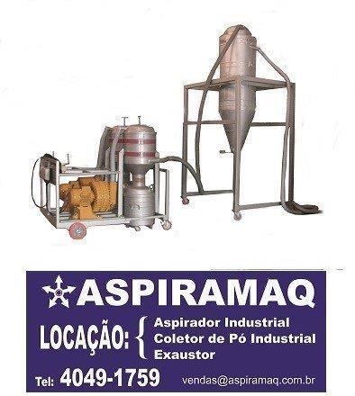Locação de aspirador industrial